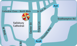 Cathedral Close Map
